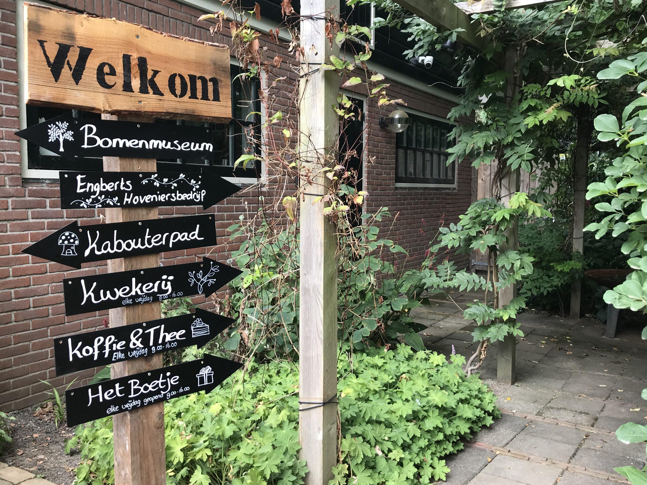 Beemster Arboretum een oase van rust