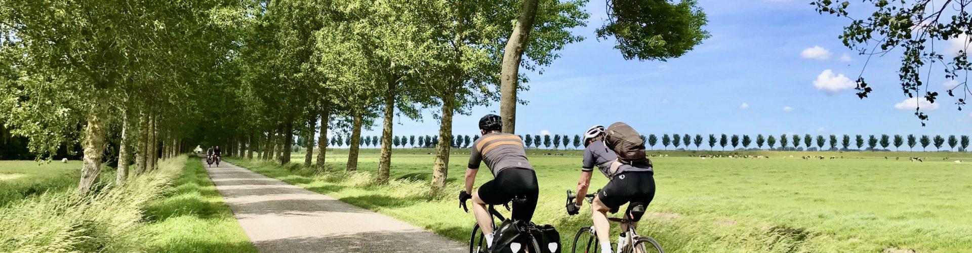 Fietsers Mijzerweg en Noorddijk IMG_0705